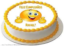 imagenes de feliz cumpleaños rafael tarta feliz compeaños rafael felicitaciones de cumpleaños para