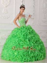 green quinceanera dresses beautiful green quinceanera dress strapless organza beading