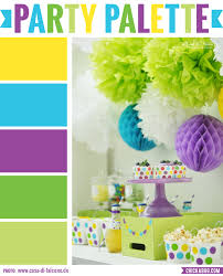 Yellow Color Combinations Party Palette Bright And Colorful Party Table Color Inspiration