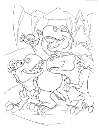 ice age 3 coloring pages kids fun 34 coloring pages ice