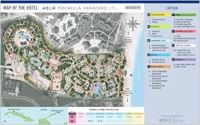 Europe Peninsulas Map Melia Peninsula Varadero U2013 Varadero Transat