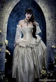 white victorian wedding dress 2016 2017 b2b fashion