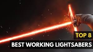 lightsaber toy light up 8 actual working star wars lightsabers list
