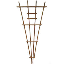 90 in redwood fan trellis 85671 the home depot