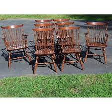 Stickley Dining Room Furniture Vintage Windsor Nichols U0026 Stone Stickley Dining Chairs Set Of