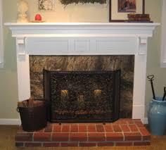 fireplace mantel color ideas with regard to fireplace mantel ideas