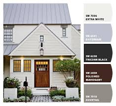 says white but houzz post says relaxed khaki siding and