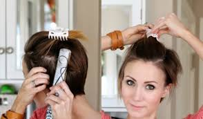 Frisuren F Kurze Haare Zum Selber Machen by Frisuren Für Kurze Haare Zum Selber Machen Ovales Gesicht Frisur