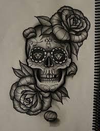 pinterest the world s catalog of ideas sugar skull roses tattoo pinterest the world s catalog of ideas
