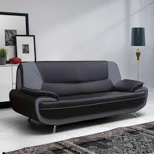 canap noir et gris canape 3 places gris maison design wiblia com