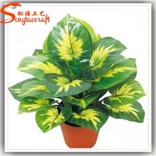 china cheap price types of evergreen ornamental plants artificial