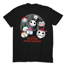 the nightmare before tsum tsum tees from disney