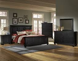 vaughan bassett reflections 534 ebony bedroom group