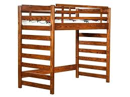 Top Bunk Bed Only Top Bunk Bed Only Workstation Bunk Bed In Cappuccino Top Bunk