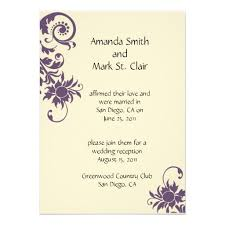 reception invitation wording wedding reception invitation wording already married amulette