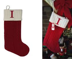 cable knit christmas st nicholas square 21 in monogram christmas initial i