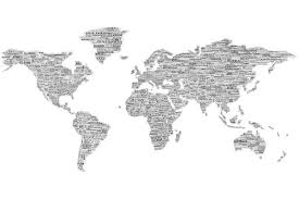 world map black and white with country names pdf one world wall map mural black on white with names of countries