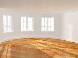 empty room with bay window u2014 stock photo frenta 45491523