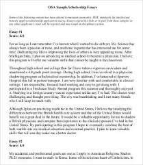 essay exles for scholarships exle essay for scholarship application gse bookbinder co