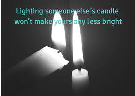 light a candle for someone lighting someone else s candle international day of happiness