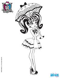 incredible inspiration monster high doll coloring pages 20 monster