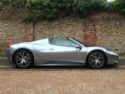 chrome ferrari 458 spider classic cars for sale