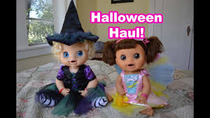 baby alive halloween costume haul baby alive videos youtube