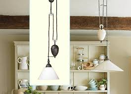 Pulley Pendant Light Magnificent Kitchen On Pulley Pendant Lights Kitchen Barrowdems