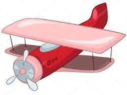 cartoon airplane u2014 stock vector rastudio 8681017