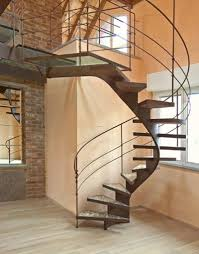 modern curved staircase 7888