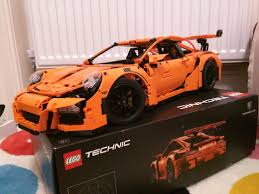lego porsche 911 gt3 rs here u0027s why the lego porsche 911 gt3 is actually so impressive