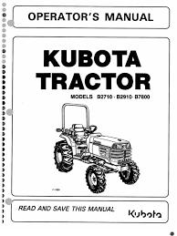 b2710 b2910 b7800 1 kubota