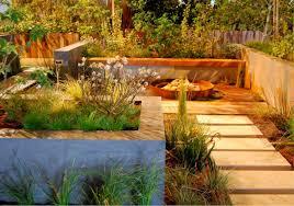 Backyard Gold Urban Creek Envision Landscape Studio