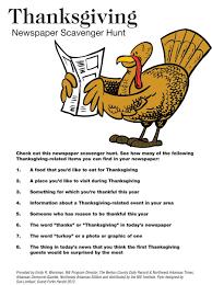 thanksgiving thanksgiving food list template printable