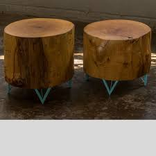 Tree Stump Side Table Tree Stump Side Table Kansas City Green Clean Designs