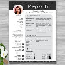teacher resume template cover letter references floral