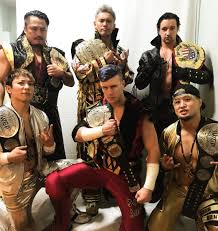 Sho Intens current 2018 chions in the faction chaos iwgp heavyweight