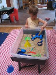 how to build a sensory table homemade sensory table half dozen mama going to get the materials