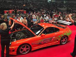 motor cars toyota original fast and furious toyota supra sells for 185 000 at auction
