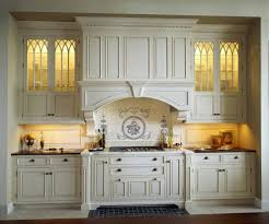 custom built in kitchen traditional with bump out traditional tile