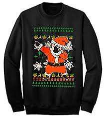 ym wear dabbing santa ugly christmas sweater sweatshirt at