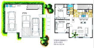 garage studio apartment floor plans apartments garage with studio plans best double duty garage