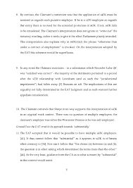 application to the eat for leave to appeal and mr justice