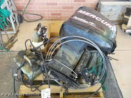 2007 mercury optimax 150 outboard motor item db4744 sold
