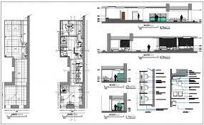 floor plan for commercial building building floor plan detail view dwg file