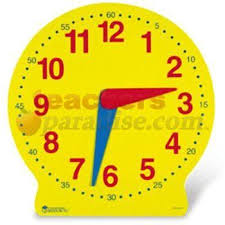 time learning clock 13 magnetic big time learning clock by teachersparadise