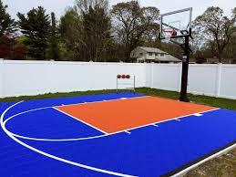 100 backyard sports court tri state snapsports tennis court