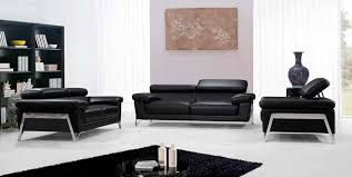 Black Leather Sofa Set Special And Modern Leather Sofas U2014 Home Ideas Collection