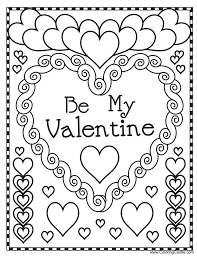 valentines coloring pages cecilymae