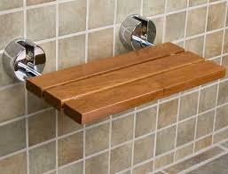 Fold Down Shower Bench Inspiring Teak Shower Bench Design Ideas Home Interior U0026 Exterior